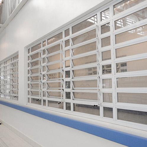 Obras Hospital Pinel Portas e Janelas